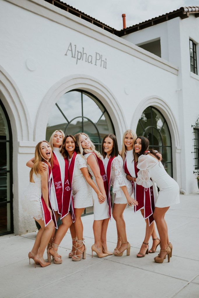 University of Arizona Alpha phi Senior Pictures Tucson Arizona Graduation Grad Pics